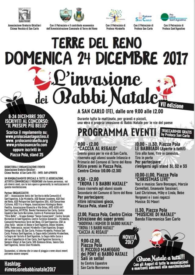 24 dicembre: L' invasione dei Babbi Natale – VII edizione